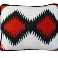 HiEnd Accents Knitted Navajo Pillow