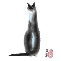 Chinese Cat I Stampe di Cheng Yan su AllPosters.it