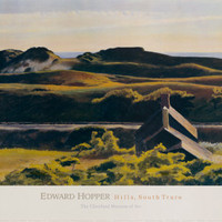 Hills, South Truro, 1930 Print by Edward Hopper at eu.art.com