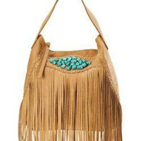 Indio Fringe Hobo Bag - New Arrivals - Lucky Brand Jeans