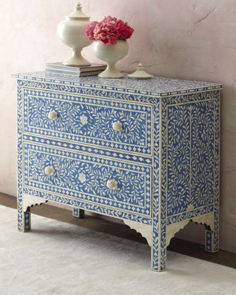 """Hilliard"" Two-Drawer Chest - Horchow"
