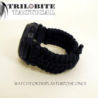 Tactical Paracord Watch Band - 24mm