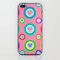 Love, love, love... iPhone & iPod Skin by Lisa Argyropoulos