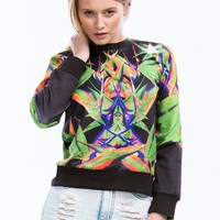 Mirrored Bird Of Paradise Sweatshirt