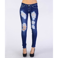 Super Ripped Skinny Jeans - Clothing