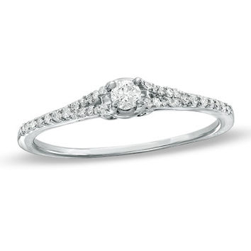 1 5 ct t w promise ring is 10k white gold view