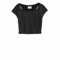 AEO Women's Cutout Cropped T-shirt