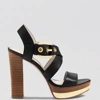 Michael Kors Open Toe Platform Sandals
