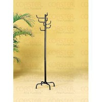 Coaster Coat Racks 8 Hook Coat Rack in Black Finish