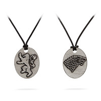 Game of Thrones Sigil Pendants
