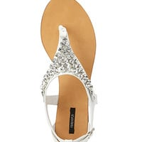 FOREVER 21 Touch-of-Glam Sandals