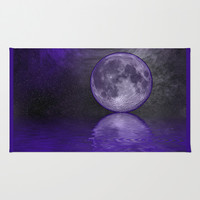 MOON FANTASY 2 Area & Throw Rug by Catspaws