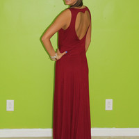 Heart of Gold Maxi: Burgundy