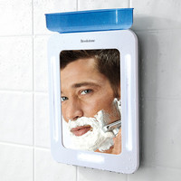 Brookstone® Fogless Shower Mirror