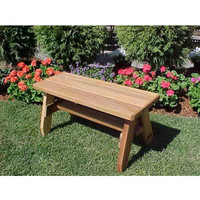 Herman Convertible Cedar Bench