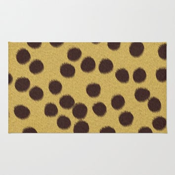 Animal Patterns - Cheetah Area & Throw Rug by Texnotropio