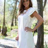 Out Of This World Dress, White