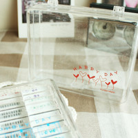 Transparent Stamp Case