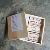 Message Stamp Set