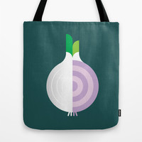 Vegetable: Onion Tote Bag by Christopher Dina | Society6