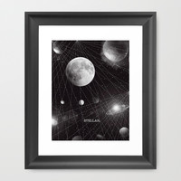 STELLAR. Framed Art Print by DuckyB (Brandi) | Society6