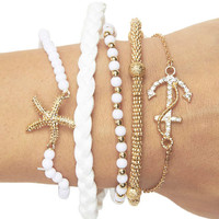 Let's Sea Friendship Bracelet Pack | Wet Seal