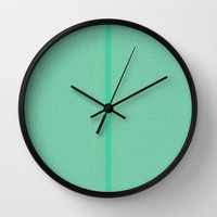 Re-Created Interference ONE No. 5 Wall Clock by Robert S. Lee
