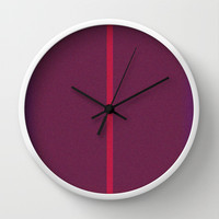 Re-Created Interference ONE No. 6 Wall Clock by Robert S. Lee