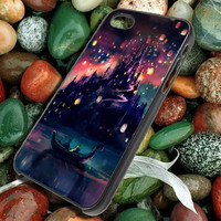 Disney Tangled Castle Lights for iphone 5,5S,5C, iphone 4,4S, ipod, samsung S3,S4, note 2, note 3, blackberry case, htc case