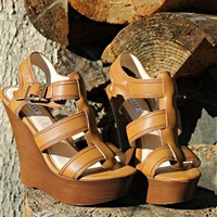 Dockside Wedges - Cognac