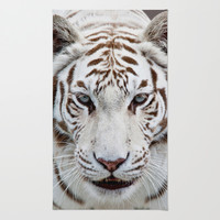 Tiger Tiger Area & Throw Rug by Catspaws | Society6