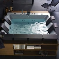 New Thais Art Whirlpool Bathtub by Blubleu