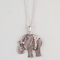 FULL TILT Filigree Elephant Pendant