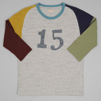 kapital - tuesday football tee grey
