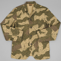 kapital - french sart work jacket camouflage canvas