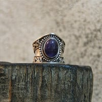 Sterling Silver Amethyst Ring ▲DON ⊕ BIU▲