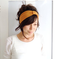 Mustard Headband by ChiChiDee on Etsy