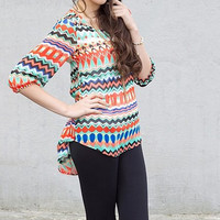 Ring in Spring Aztec Tunic