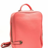 Mod Faux Leather Backpack