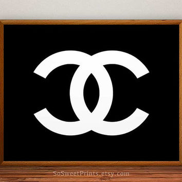 Chanel art wall, Chanel Poster, Chanel Print, Coco Chanel, Chanel decor, Chanel art poster, wall, 8x10, 11x14, 13x19, 16x20, 17x22