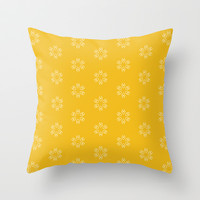 Vibrant Pattern Throw Pillow by Uma Gokhale