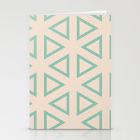 Vibrant Pattern- 2 Stationery Cards by Uma Gokhale | Society6