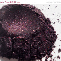 SPRING CLEANING SALE Deep Purple Natural Vegan by RedeemingBeauty