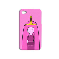 Adventure Time iPhone Case Pink iPhone 5 Case Cute iPod 4 Case Funny iPod 5 Case Princess Bubblegum iPhone 4 Case Girly iPhone 4s Cover