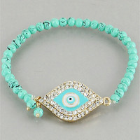 See No Evil Bracelet from P.S. I Love You More Boutique