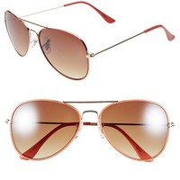 Icon Eyewear 'Helen' Aviator Sunglasses (Juniors) | Nordstrom