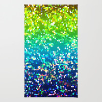 Glitter Graphic G210 Area & Throw Rug by MedusArt