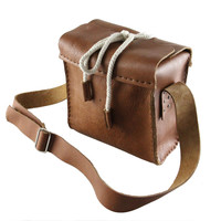 Leather camera bag / Canon bag /Nikon bag /SLR camera bag