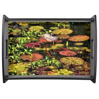 The Pond - Serving Tray by Lyle Hatch @ Zazzle.com