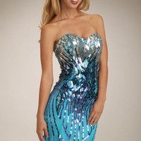 Sweetheart Embellished Gown by Temptations